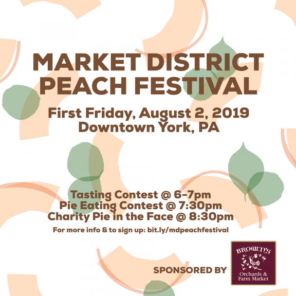 Market District Peach Festival with Brown's!